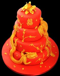 Chinese wedding cake... and then there is this direction