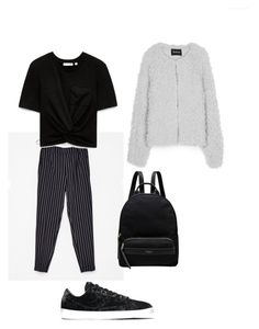 """Back 2 skool #4"" by karinstyleonly on Polyvore featuring NIKE and Radley"