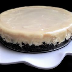 Sweet Peony: white chocolate cheesecake