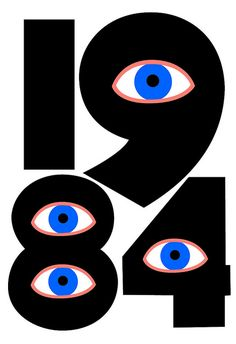 1984 - George Orwell by gwenboul, via Flickr
