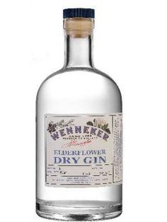 Wenneker Elderflower Dry Gin Fles
