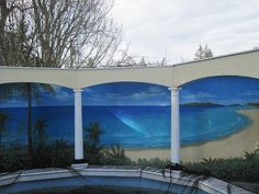 Outdoor murals dress up sheds, garages and blank walls, plus seven tips or creating your own | OregonLive.com