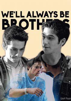 #TeenWolf - Stiles and Scott - Sciles  gif
