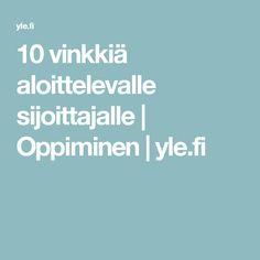10 vinkkiä aloittelevalle sijoittajalle   Oppiminen   yle.fi