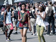 """Funky Fashions - Afro-Punk Festival - @afropunk - #Afropunk - #afropunkfestival - http://www.afropunk.com/ - FUNK GUMBO RADIO: http://www.live365.com/stations/sirhobson and """"Like"""" us at: https://www.facebook.com/FUNKGUMBORADIO"""
