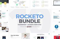 Rocketo Powerpoint + Keynote Bundle  @creativework247
