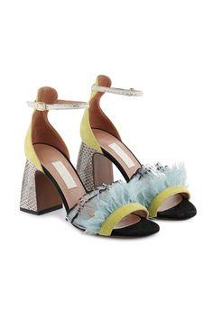 Sandalo piume e ayers lemon - OSG197.85CP0720E988 | L'Autre Chose Online Boutique