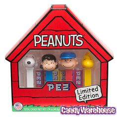 Just found Peanuts PEZ Candy Dispensers: 4-Piece Collector's Box @CandyWarehouse, Thanks for the #CandyAssist!