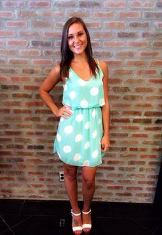 Polka Dot Dress $39.95