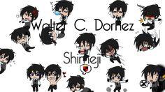 Young Walter Dornez Shimeji by TheMonocleComplex