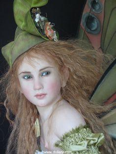 Beautiful fairy dolls by Jaimie Williamson.