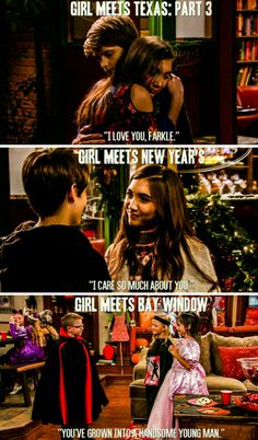 They are ment to be together 💖💖 Girl Meets World Cast, Boy Meets World Quotes, Disney Channel Shows, Disney Shows, Riley Matthews, Bad Pun Dog, Riley And Farkle, Cory And Topanga, Ripped Girls