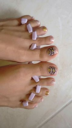 Uñas -  - #Genel Sns Nails, Manicure And Pedicure, Toe Nail Designs, Simple Nail Designs, Perfect Nails, Gorgeous Nails, Hello Nails, Feet Nails, Toe Nail Art