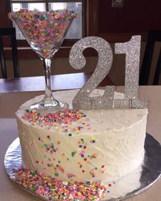 Likes, 11 Comments - Custom Cakes And More! (pat a cake bakers) on Instagr. - - Likes, 11 Comments – Custom Cakes And More! (pat a cake bakers) on Instagr… – 21st Birthday Cupcakes, 21st Birthday Cake For Girls, 21st Bday Ideas, 21st Cake, 22nd Birthday, 21st Birthday Ideas For Girls Gifts Diy, Diy 21st Birthday Decorations, 21st Birthday Games, Girl Birthday