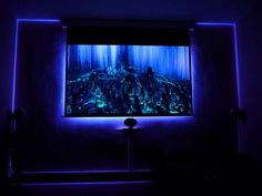 Four Steps to Build an Ambilight for Projector Screen - Projector - Ideas of Projector - Build an ambilight for projector screen with RGB led strips Home Theater Furniture, Home Theater Decor, Best Home Theater, Home Theater Rooms, Home Theater Design, Home Theater Seating, Home Theater Screens, Home Theater Speakers, Home Theater Projectors
