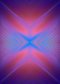 STRUCTURE IX, mixed technique: acrylic paint, Photoshop
