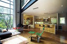 我也想要有這樣開放式的客廳!