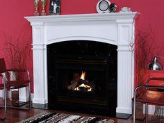 custom fireplace mantels | Monarch Custom Wood Fireplace Mantel Surround
