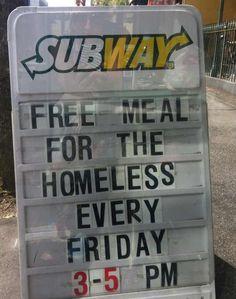 This sweet Subway | 11 People Paying ItForward