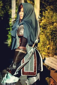 "Melissa from ""Armed and Dangerous"" as Leliana from Dragon Age Inquisition. Photo by The Will Box"