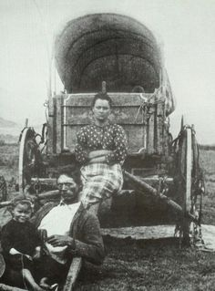 Oregon Trail Pioneers | pioneer family from the denver public library western history ...:
