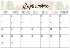 Calendarios Septiembre 2014 | Imprimibles                              …