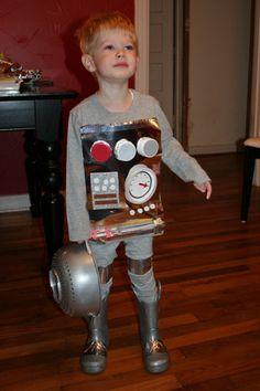 Child Robot Costume More