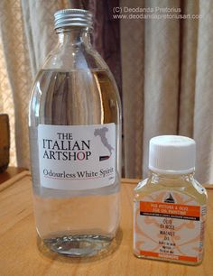 Great and safe alternative to turpentine fumes in the studio. http://deodandapretoriusart.blogspot.co.za/p/on-easel.html