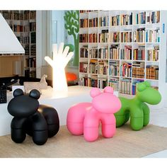 Cool Eero Aarnio Pony especially for kids. http://www.olijkenvrolijk.nl/merken/eero-aarnio-design.html