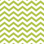 Chevron Lime Green fabric by misstiina for sale on Spoonflower - custom fabric