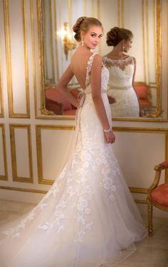 5932 Backless Wedding Dresses by Stella York