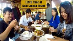 Lunch and Relax at Kdat Sanaka Resort in Kampot Province