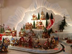 Epic Village Display - can order how to DVD on how to build
