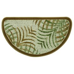 Create a contemporary look to your kitchen with this Bacova Mirage Berber Kitchen Rug. Elegant and durable at the same time, this modern leaf design rug offers a skid resistant backing, the perfect accessory for your busy kitchen. Feather Design, Leaf Design, Tropical Rugs, Kitchen Rugs And Mats, Berber, Rug Size Guide, Area Rug Sizes, Fashion Room, Bath Rugs