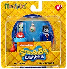 "Spongebob Squarepants Minimates Mr. Krabs & Perch Perkins 2"" Minifigure 2-Pack SpongeBob SquarePants http://www.amazon.com/dp/B00VZ2RTWO/ref=cm_sw_r_pi_dp_Or9jwb1B5PJQ9"
