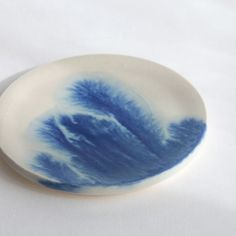MISHIM POTTERY CREATION / DRIPS plate(size:S)