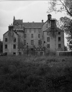 Old photo of Castle Grant 1952, Grantown-On-Spey