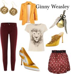 Ginny Weasley, created by kristajayec on Polyvore