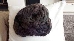Loop mit dicker Wolle