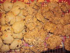 reeces pb cookies and oatmeal cookies
