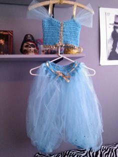 Princess Jasmine Disney Inspired Tutu & Crochet by Beautitulle, $45.99