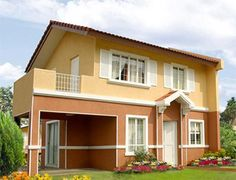 buy two storey single attached houses camella talisay cebu: buy two storey single attached houses camella tali...