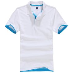 6c6a41f0eba Brand New Men s Polo Shirt For Men Polos Men Cotton Short Sleeve shirt  Clothes jerseys golftennis Plus Size XS XXL 3XL homme-in Polo from Men s  Clothing ...