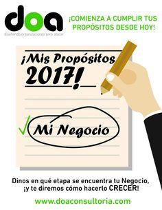 ¡COMIENZA A CUMPLIR TUS PROPÓSITOS DESDE HOY! www.doaconsultoria.com