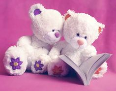 I love teddy bears reading....*SQUEEE!*