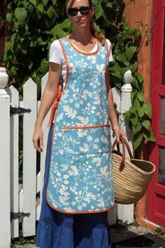 Long Pinafore Apron. $38.00, via Etsy.