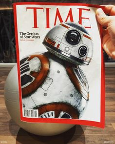 How awesome is BB-8 in  #TheForceAwakens! #R2life #bb8 @starwars...