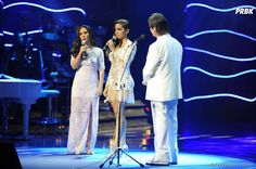 Tatá Werneck ficou por conta do humor no meio da apresentação de Anitta e Roberto Carlos no especial de fim de ano da Globo!