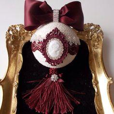 Купить Новогодние шары в классическом стиле - елочные украшения, елочные шары, новогоднее украшение