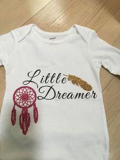 Little Dreamer Onesie by KlassyAndKute on Etsy